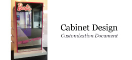 Cabinet Design Customization Document