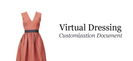 Virtual Dressing Customization Document