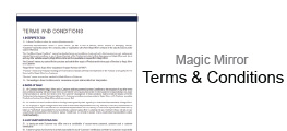 Magic Mirror Terms and Conditions