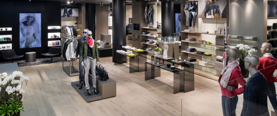 Interactive Digital Signage for Retail Stores