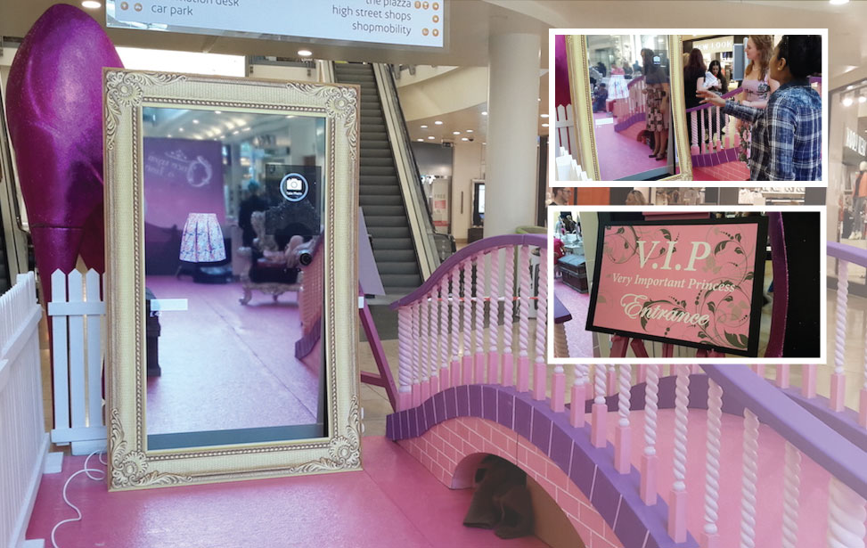 Intu Uxbridge: Princess Pampered Palace Event