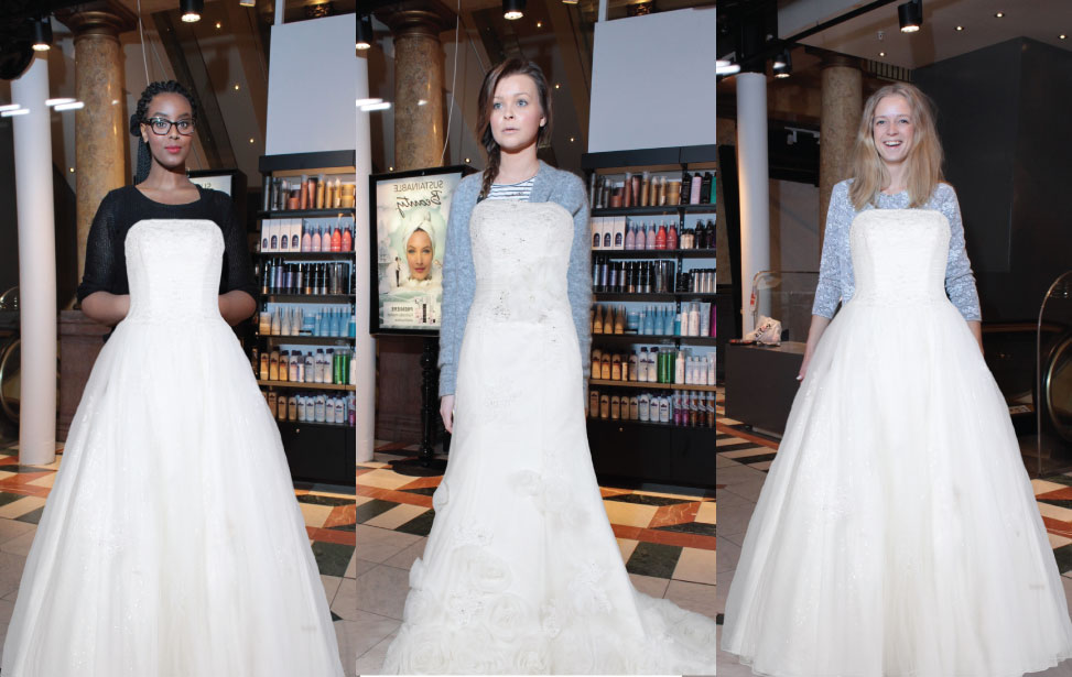 ITAB - Virtual Dressing for Bridal Gowns