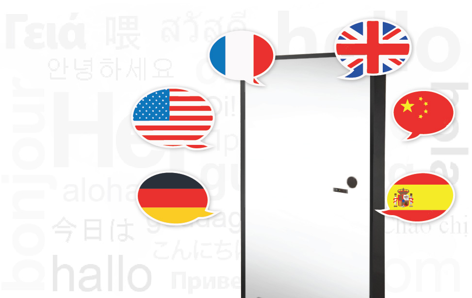 Multi-Language User Interface