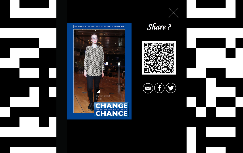 QR Code Sharing Function
