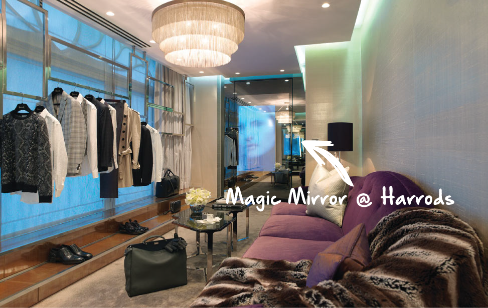 Wear and Compare in Harrods VIP Rooms