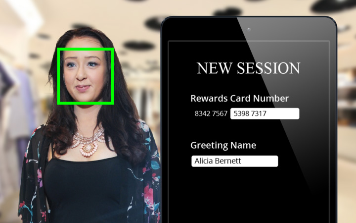 Facial recognition for Wear and Compare