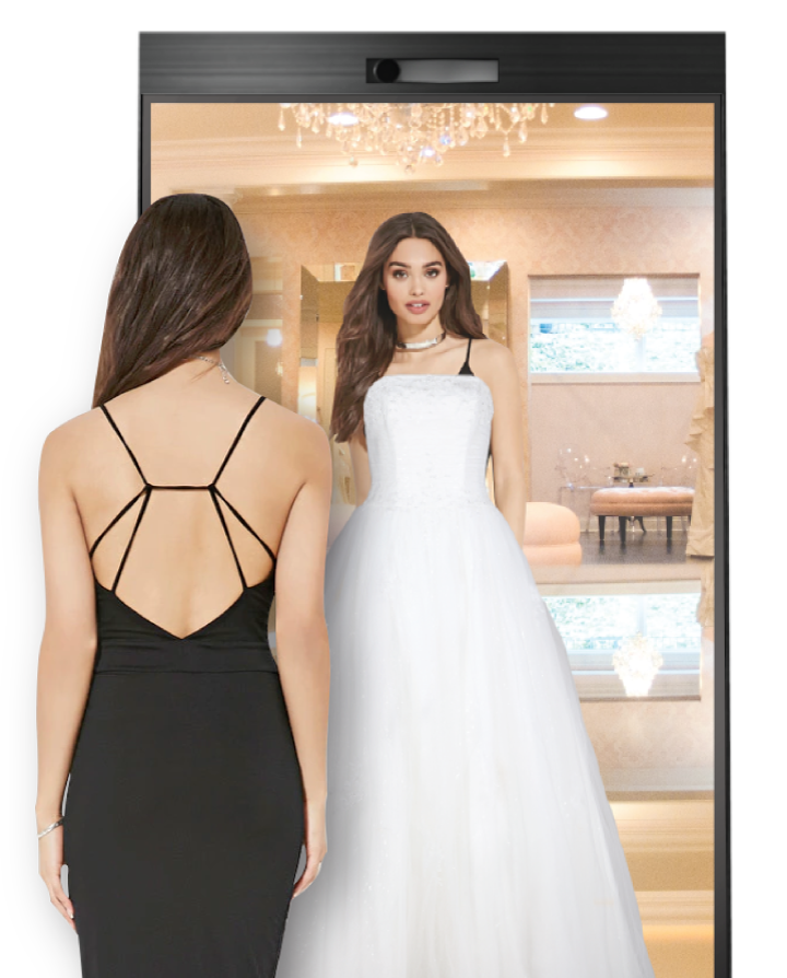 3d virtual gown fitting for wedding boutiques for Virtual try on wedding dress