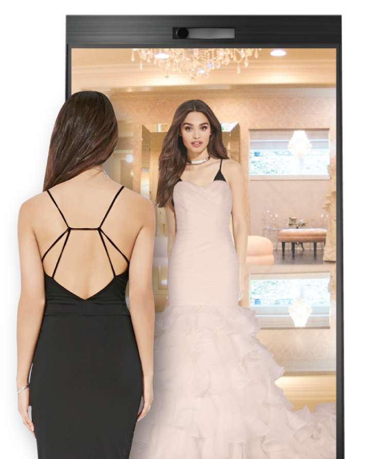3D Virtual Gown Fitting For Wedding Boutiques