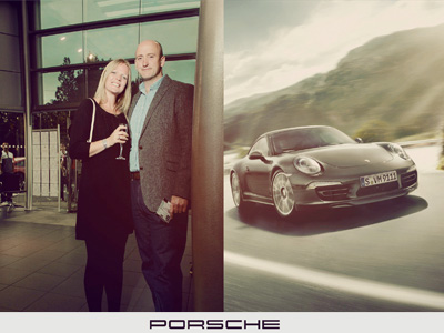 Porsche Bournemouth Centre's VIP event